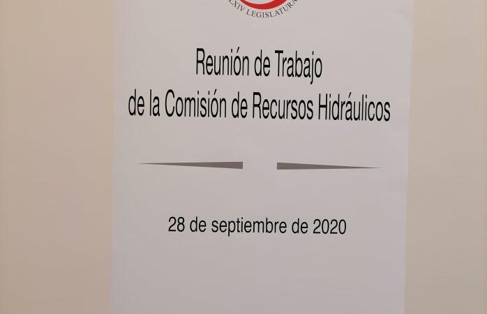 Sesiona comisión de recursos hidráulicos del senado aquí