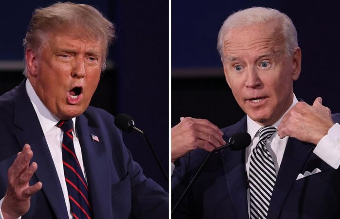 Mira las frases más fuertes del debate entre biden y trump