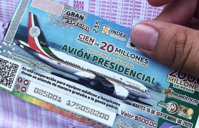Lotería nacional no ha pagado ningún cachito ganador de rifa del avión presidencial