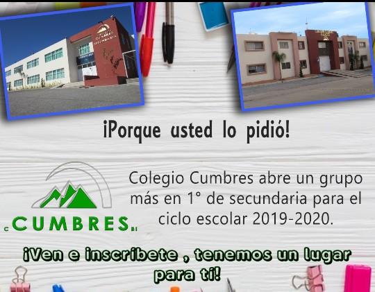 COLEGIO CUMBRES 2